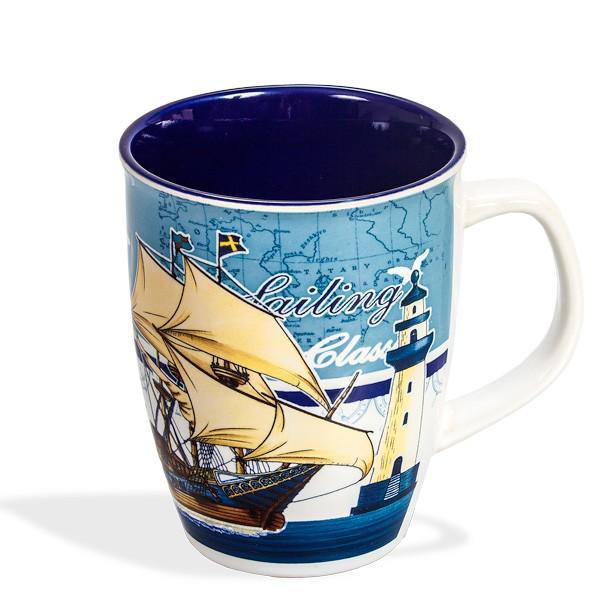 Tasse Motiv Segelschiff