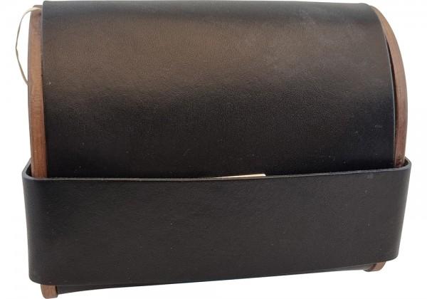 Bag2roots Tasche aus Holz und Leder