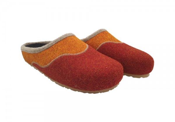 MB Clogs, Clogs Hausschuhe in rost/orange