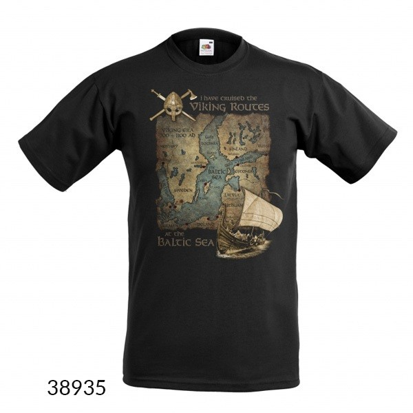 T-Shirt Viking Routes