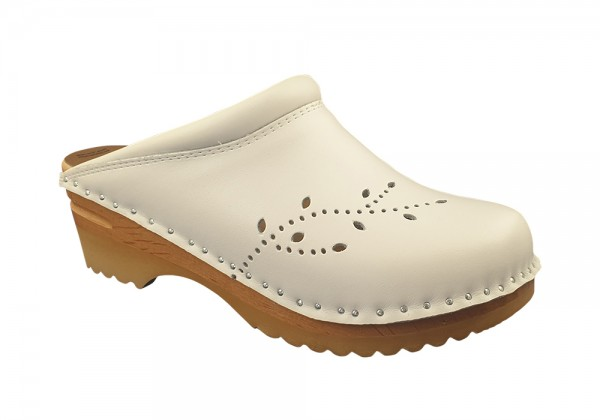 MB Clogs, Damenclogs weiß