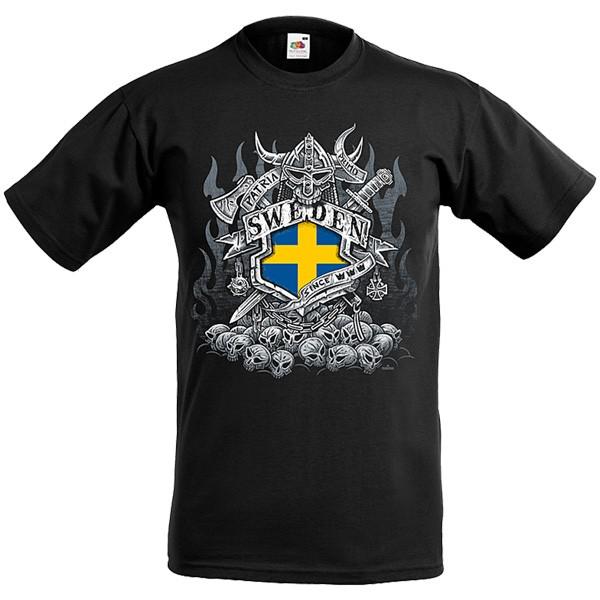 Wikinger T-Shirt Patria Schweden
