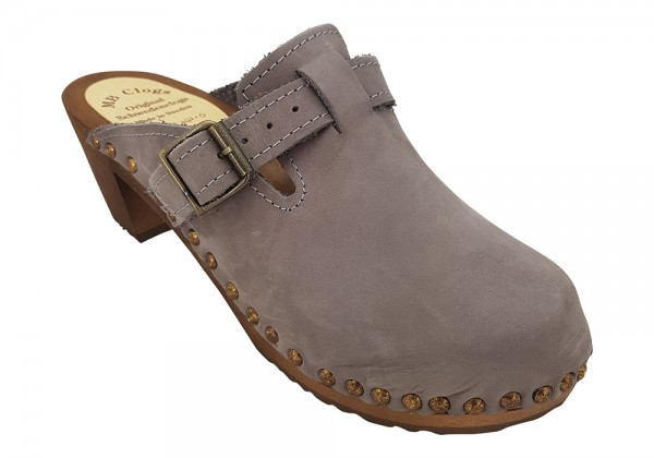 Damenclogs, MB Clogs grau