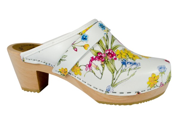 Clogs Modell Summer Flowers