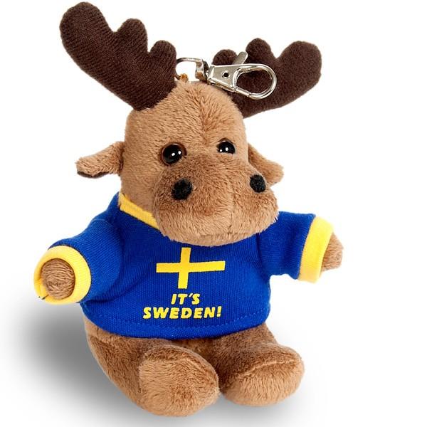 Schlüsselanhänger Schweden Elch