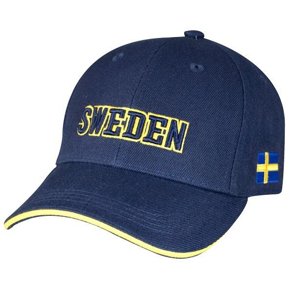 Basecap navy Sweden