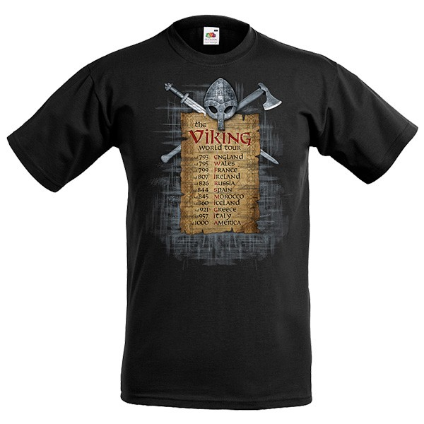 T-Shirt Viking World Tour