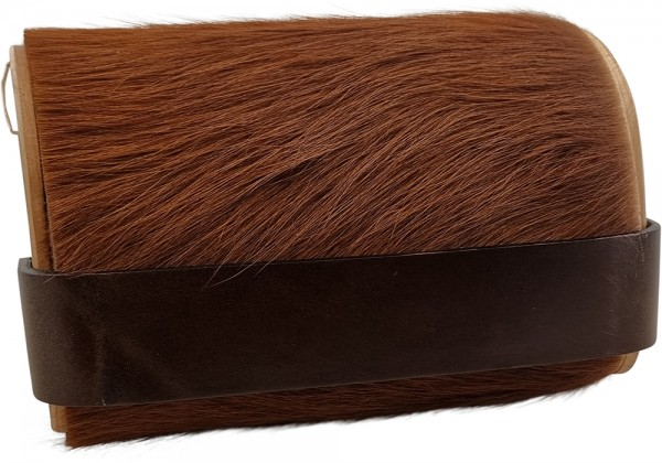 Bag2roots Tasche aus Holz und Fell