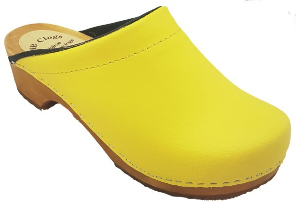 Standardclogs, Damenclogs gelb