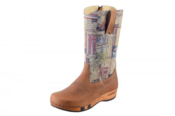 Clogs Stiefel Damen Modell Texas