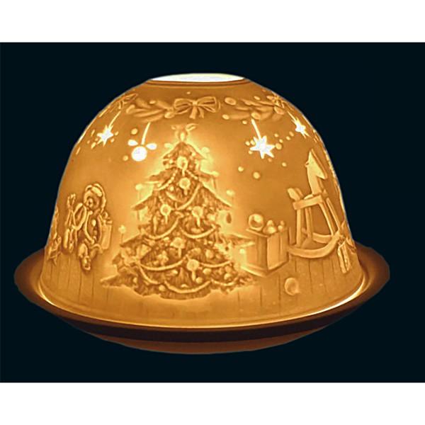 Kerzenlicht Motiv Weihnachtsbaum