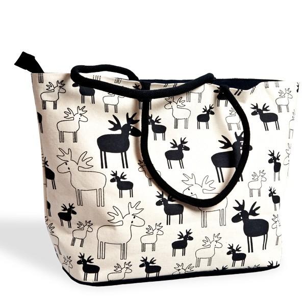 Tasche aus Bio-Baumwolle Ulrikas Elch