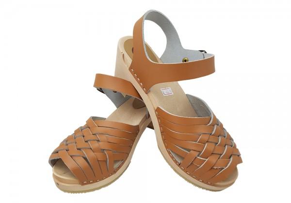 Sandalette Natur