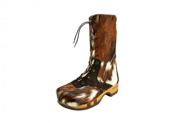 Clogs Stiefel Damen Naturfell Modell Ramona