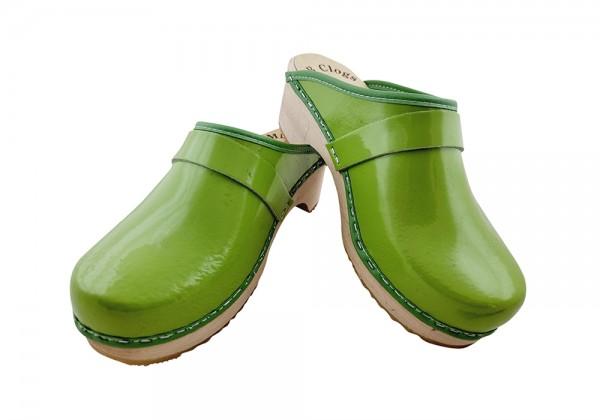 Lacklederclogs grün Gr. 36