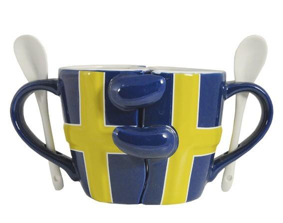 Partnertasse Schweden