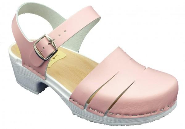 Sandalette rosa mit PU Sohle