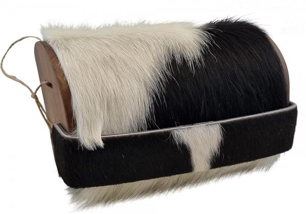 Bag2roots Tasche aus Holz und echtem Kuhfell